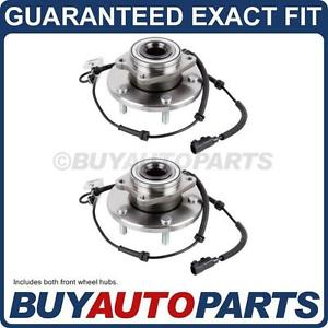 high temperature PAIR  FRONT LEFT & RIGHT WHEEL HUB BEARING ASSEMBLY FOR CHRYSLER DODGE AND VW