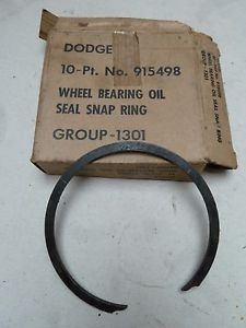 high temperature Dodge WC M37 Wheel Bearing Oil Seal Snap Ring No 915498  New Old Stock