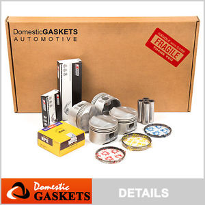 high temperature 02-04 Chrysler Sebring Dodge Stratus 2.4L Full Gaskets Pistons Bearing&Rings Set