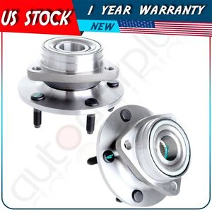 high temperature Pair(2) New Front Wheel Hub Bearing Assembly For 94-99 DODGE RAM 1500 4X4 4WD
