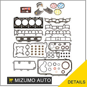 high temperature 96-99 Mitsubishi Eagle Dodge Non-Turbo 2.0 420A Full Gasket Set Bearings Rings