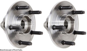 high temperature Pair New Front Right & Left Wheel Hub Bearing Assembly For Dodge Ram 1500