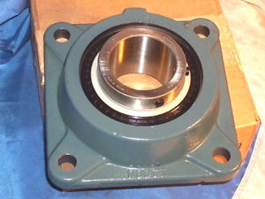 high temperature DODGE 126195 F4B-SCM-208 FLANGE MOUNT BEARING UNIT F4BSCM208