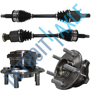 high temperature  CHARGER Front Driver and Passenger CV Axle +2 Wheel Hub Bearing  AWD w/ ABS