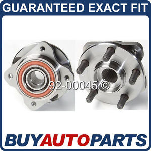 high temperature PAIR  FRONT LEFT & RIGHT WHEEL HUB BEARING ASSEMBLY – CHRYSLER DODGE PLYMOUTH