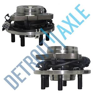 high temperature Pair of 2 Front Driver and Passenger Wheel Hub and Bearing 4WD 4×4 6 Bolt w/ ABS