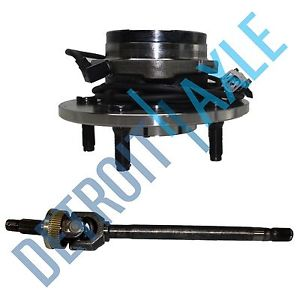 high temperature Dodge Ram 1500 Left 2000-2001 U JOINT Axle + Wheel  Bearing Assembly w/ ABS 4X4