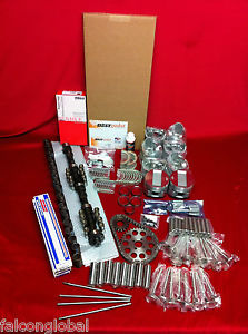 high temperature Dodge 241 Hemi Deluxe engine kit 1953 54 pistons rings gaskets bearings valves