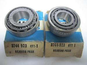 high temperature 56-73 Chrysler Imperial Desoto Outer Front Wheel Bearings (2) NOS 3744923