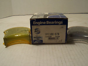 high temperature ACL 5M1186 STD Main Bearing set for Dodge,Eagle, Mitsubishi.2.0L, 2.4L In Stock