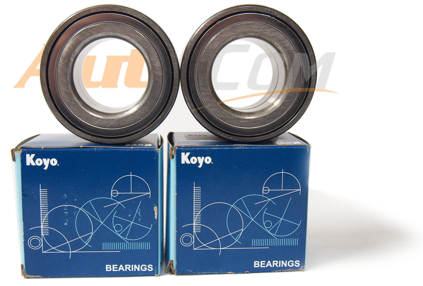 high temperature KOYO Wheel Bearing w/Autocom FRONT Hub Set  841-84004 Toyota Avalon 05-14