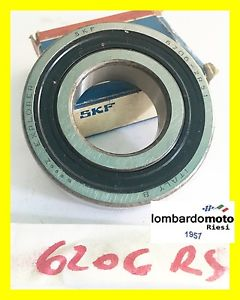 high temperature 6206 2RS1 / 2RS SKF Ball bearing Rubber seal 2 sides 30x62x16mm CHIUSO