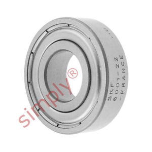 high temperature SKF 60012Z Metal Shielded Deep Groove Ball Bearing 12x28x8mm