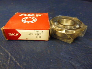 high temperature SKF 6204 NRJEM Single Row Open Snap Ring Ball Bearing 6204 NR/C3QE6