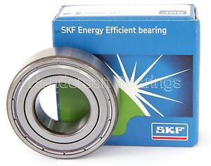 high temperature E2.6003-2Z/C3 SKF Energy Efficient Ball Bearing With Metal Shields 17x35x10mm
