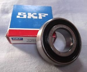 high temperature Genuine SKF Sealed Deep Groove Ball Bearing Spherical outer race 1726205-2RS1