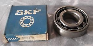 high temperature Genuine SKF Single Row Angular Contact Open Ball Bearing 20x47x14mm 7204B