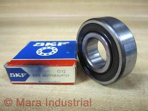 high temperature SKF 6204-2RS1/LHT23 Shielded Ball Bearing 93122