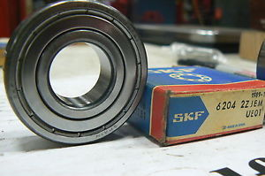 high temperature SKF 6204-2ZJEM & KBC 6204-Z SINGLE ROW DEEP GROOVE BALL BEARING