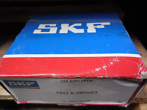 high temperature  SKF 5311-A-2RS1/C3 BALL BEARING 5311A2RS1/C3