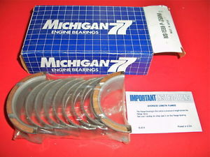 high temperature MS1559P .25MM MICHIGAN 77 Main Bearings 1.6L 1.8L 2.0L 2.4L DODGE HYUN MITS