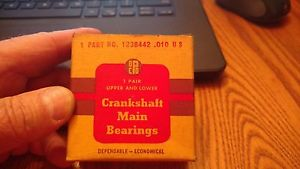 high temperature Vintage in box Pylmouth -Dodge Car/Truck 30's to 1940's Crankshaft Main Bearing