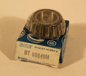 high temperature VINTAGE NOS SKF MCQUAY NORRIS DIFFERENTIAL BEARING BT 86649M BT86649M