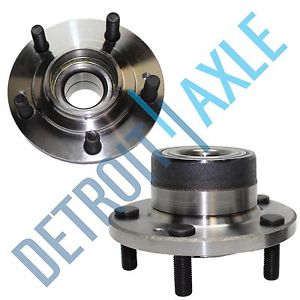 high temperature Pair: 2 New REAR 1991-99 Stealth 3000GT Complete Wheel Hub and Bearing Assembly