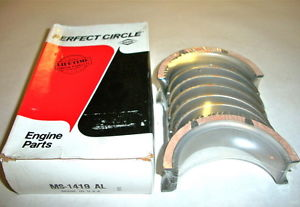high temperature MS1419AL-STD PERFECT CIRCLE Main Bearings  76-87 225 L6 CHRYSLER DODGE PLYMOUTH