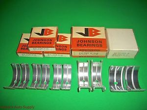 high temperature 529 x 1 JOHNSON Main Bearings 273 277 301 303 318 326 340 V8 Dodge Plymouth