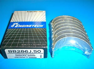 high temperature 2.2L 2.5L 135 153 L4 CHRYSLER DODGE PLYMOUTH 4  ROD BEARINGS BB286J .50MM