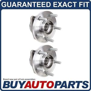 high temperature PAIR  FRONT LEFT & RIGHT WHEEL HUB BEARING ASSEMBLY FOR CHRYSLER AND DODGE