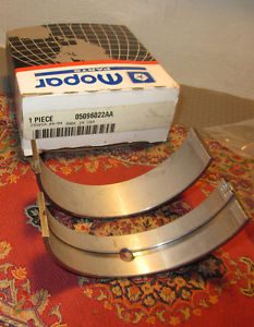 "high temperature MOPAR OEM BEARING PACKAGE  Crankshaft 010"" U/S  05096022AA"