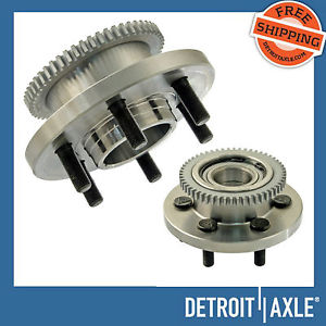 high temperature Pair (2)  Front Wheel Hub & Bearing Assembly Dodge Durango Dakota 2WD w/ ABS