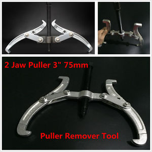 """high temperature Adjustable 2 Jaw Puller 3""""75mm Gear Hub Bearing Extractor Remove Tool Reversible"""