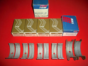 high temperature MS3348P-30 TRW MAIN BEARINGS 1974-1979 361 400 V8 MOPAR CHRYSLER DODGE PLYMOUTH