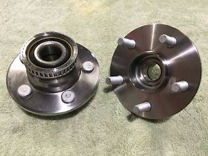 high temperature  PAIR 512023 Axle Bearing and Hub Assembly 4 STUD REAR 95-97 DODGE NEON w/ABS