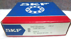 high temperature SKF EXPLORER BALL BEARING 7306 BECBP  7306BECBP