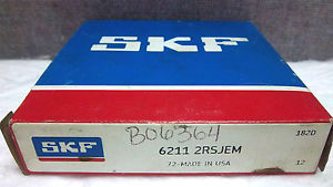 high temperature SKF BALL BEARING 6211 2RSJEM  62112RSJEM