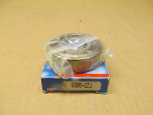high temperature 1 NIB SKF 6305 2ZJ 63052ZJ DEEP GROOVE BALL BEARING