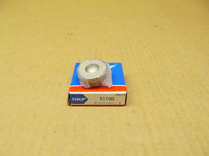 high temperature 1 NIB SKF 51100 BALL THRUST BEARING 10MM BORE 24MM OD 9MM WIDTH SINGLE DIRECTION