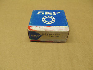 high temperature 1 NIB SKF 2204 ETN9 2204ETN9 SELF-ALIGNING BALL BEARING 20MM BORE DIAM ROUND BOR