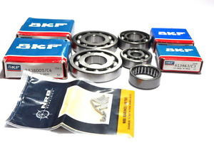 high temperature Bid@UK Vespa Ball Bearing Set Vespa Sprint,VBB,VNB,VNA,GL,GT, 125-150 SKF-NRB