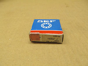 high temperature 1 NIB SKF 16002-J 16002J RADIAL/DEEP GROOVE BALL BEARING 15MM ID 32MM OD 8MM W