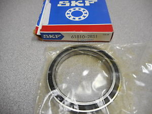 high temperature SKF 61810-2RS1 RADIAL BALL BEARING DEEP GROOVE 7MM WIDE 65MM OD 50MM BORE DIA
