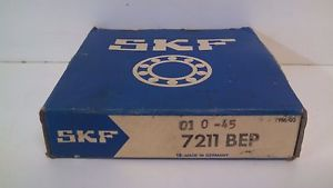 high temperature  OLD STOCK! SKF ANGULAR CONTACT BALL BEARING 7211-BEP