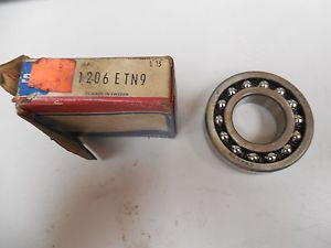 high temperature SKF SELF ALIGNING BALL BEARING 1206 ETN9 1206ETN9 NIB