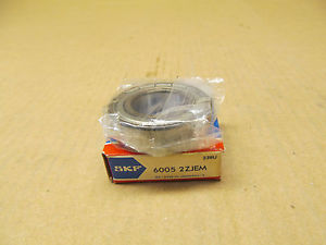 high temperature 1 NIB SKF 6005 2ZJEM RADIAL/DEEP GROOVE BALL BEARING 25MM ID 47MM OD 12MM WIDTH