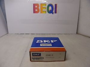 high temperature SKF 2316K Self Aligning Ball Bearing 80mm Bore, 170mm OD, 58mm Width 2316 K NIB