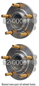 high temperature Pair New Front Left & Right Wheel Hub Bearing Assembly Fits Dodge Chrysler Mitsu